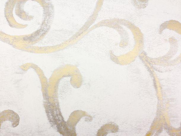 Tapete Vlies Ranken beigegrau Glanz Fuggerhaus 4809-07 online kaufen