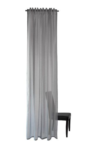 Loop Curtain Lisa plain 245x140cm transparent 5906-29