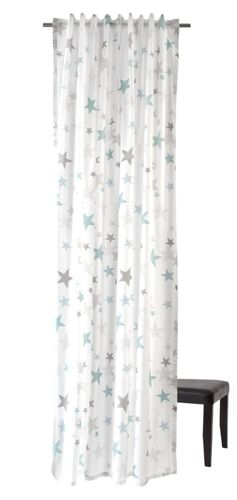 Loop Curtain Stars childs 245x140cm non-transparent 5910-08