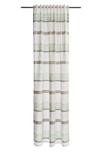 Loop Curtain Lea striped 245x140cm semi-transparent 5894-01