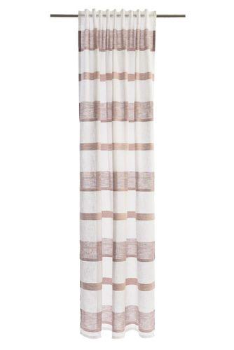 Schlaufenschal Lea Streifen 245x140cm halbtransparent 5894-25 online kaufen
