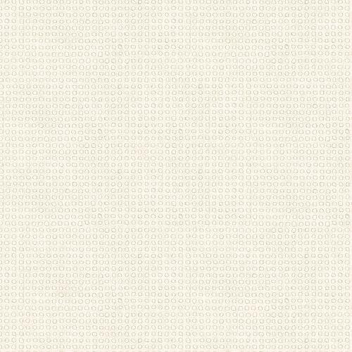 Dieter Langer Tapete Vlies Tupfer creme Metallic 58829