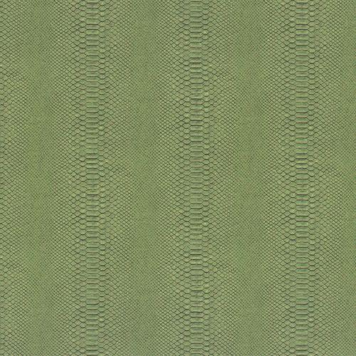 Dieter Langer Tapete Vlies Schlange Reptil grün Metallic 58834 online kaufen