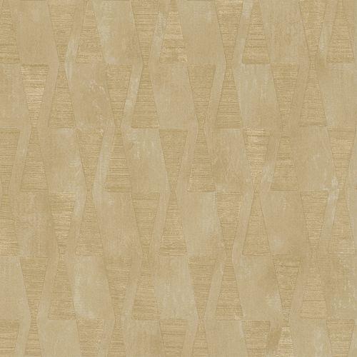 Dieter Langer Wallpaper triangles cream grey gloss 58852 online kaufen