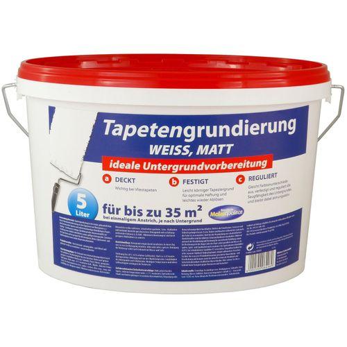Tapetengrund Tapeten Grundierung Tapetengrundierung 5 Liter