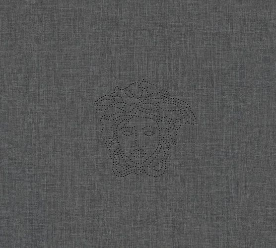 Versace Home Wallpaper Panel Medusa linen anthracite 32950-4 online kaufen