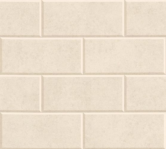 Versace Home Wallpaper 3d tile design cream beige 34322-1 online kaufen