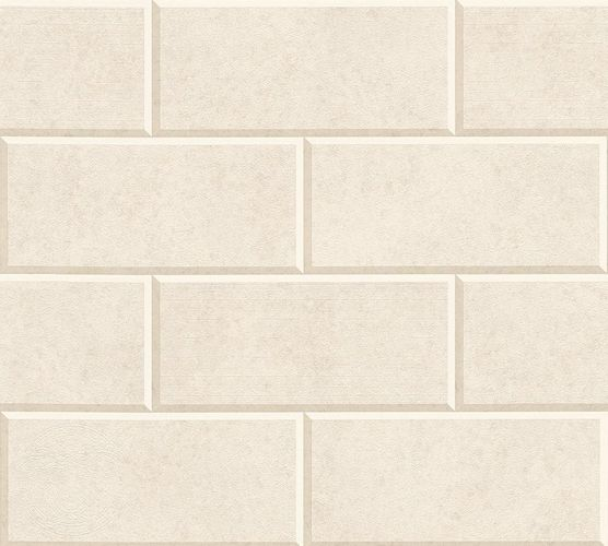 Versace Home Wallpaper 3d tile design beige cream 34322-5 online kaufen