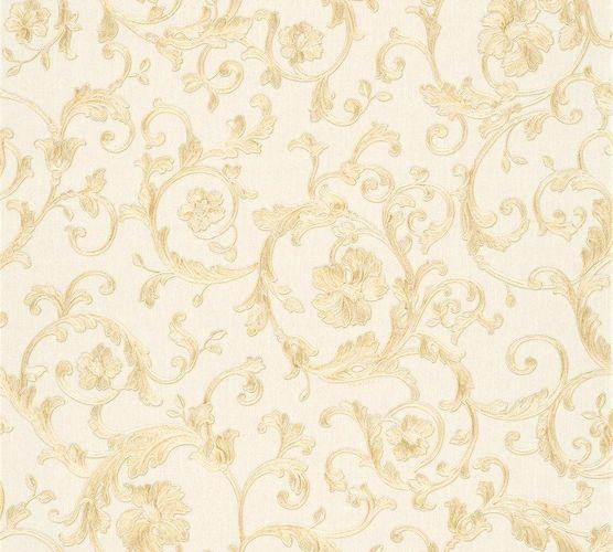 Versace Home Wallpaper floral white beige glitter 34326-1 online kaufen