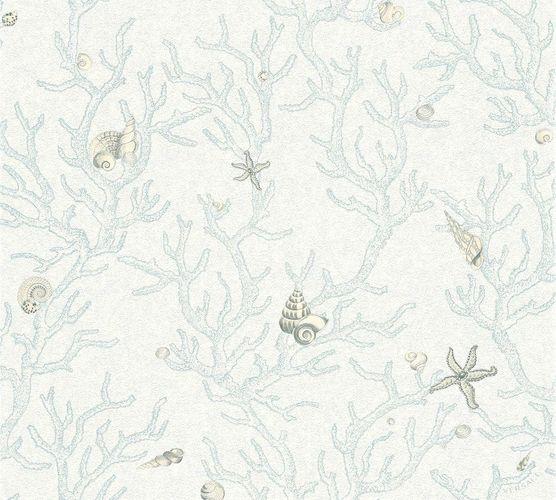 Versace Home Tapete Korallen Muscheln blau weiß 34496-3 online kaufen