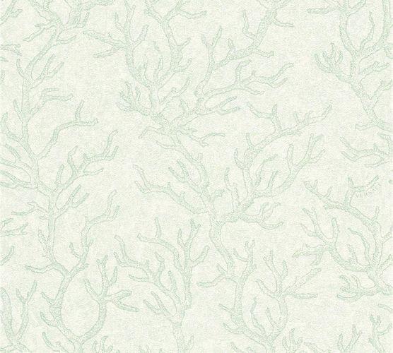 Versace Home Tapete Korallen grün weiß Glanz 34497-3 online kaufen