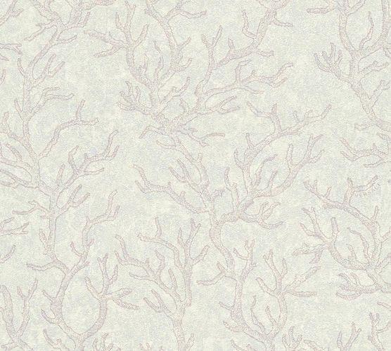 Versace Home Tapete Korallen flieder weiß Glanz 34497-4 online kaufen