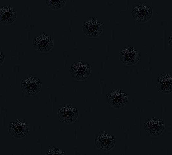 Versace Home Tapete Medusa Kopf schwarz Glanz 34862-2 online kaufen