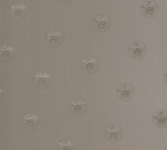 Versace Home Tapete Medusa Kopf silbergrau Glanz 34862-3 online kaufen
