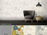 Tapete Vlies Kombinationsmöglichkeiten Versace Home Teller cremeweiß silber Metallic 34901-4 5