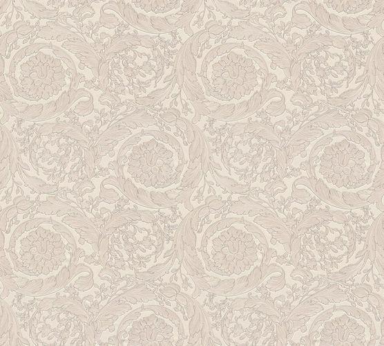 Versace Home Tapete Blumen Klassik silberweiß Glanz 93583-5 online kaufen