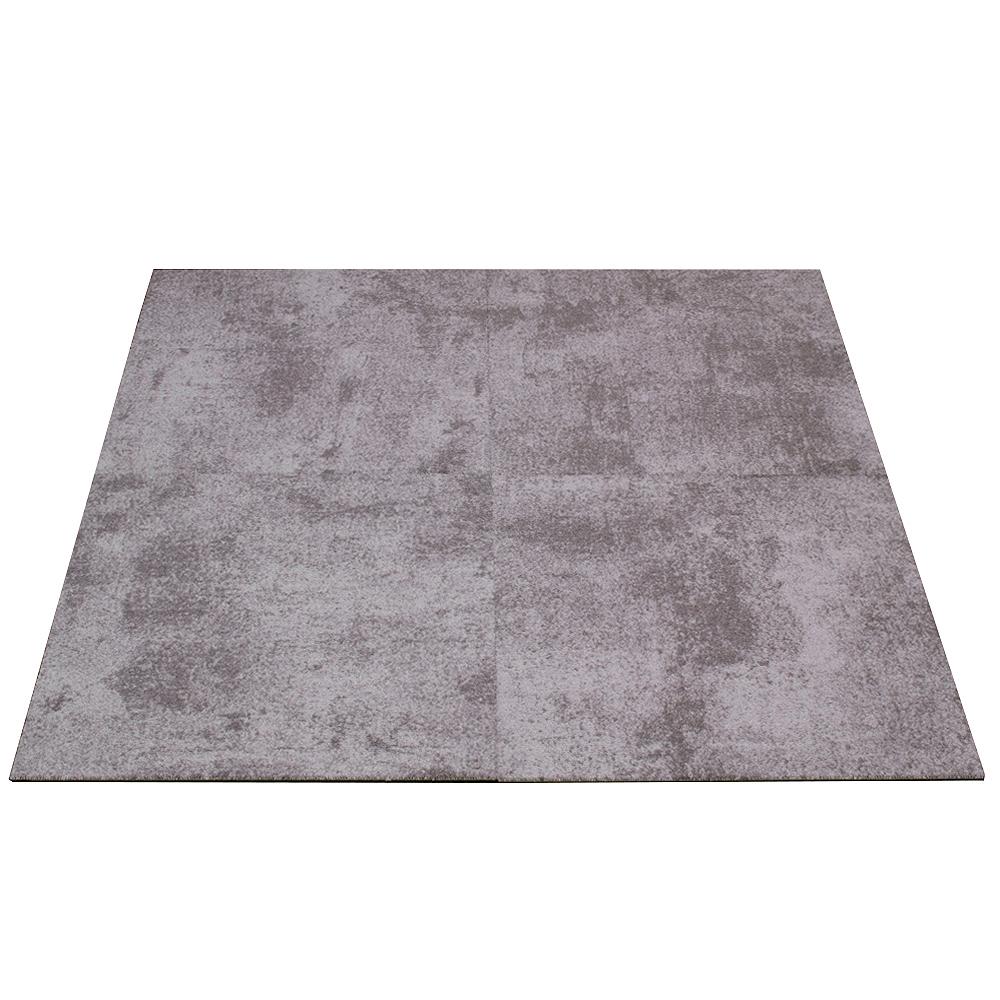 gewerbe teppichfliesen beton optik teppich grau 50x50cm. Black Bedroom Furniture Sets. Home Design Ideas