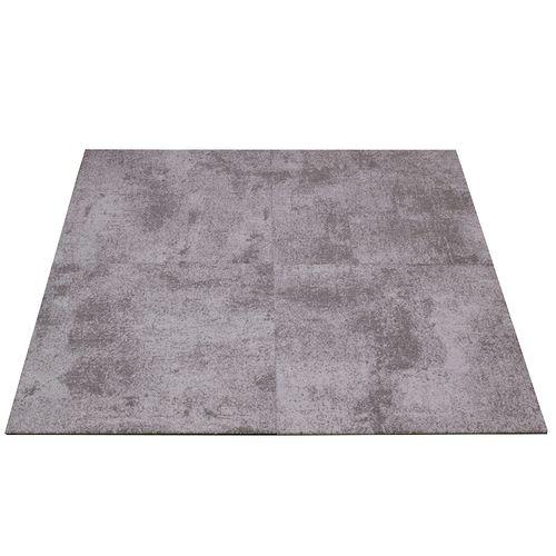 Teppichfliesen Balta Graphite Beton-Optik Teppich grau 50x50cm