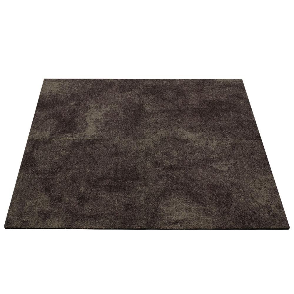 Gewerbe teppichfliesen beton optik teppich braun 50x50cm for Beton optik