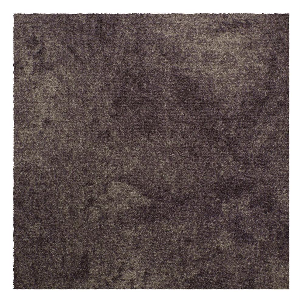 Gewerbe Teppichfliesen Beton-Optik Teppichboden braun 50x50cm 22,00€//1qm