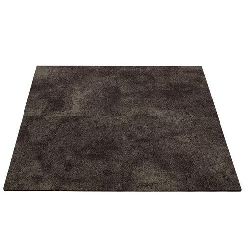 Gewerbe Teppichfliesen Beton-Optik Teppich braun 50x50cm online kaufen