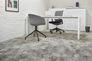 Raumbild Gewerbe Teppichfliesen Beton-Optik Teppichboden grau 50x50cm 3
