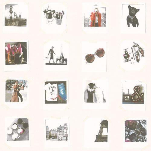 Tapete World Wide Walls Mädchen Polaroid Bilder bunt 138846 online kaufen