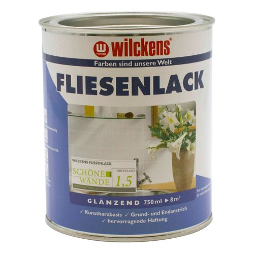 Wilckens Tile Lacquer Varnish Paint White 750ml online kaufen