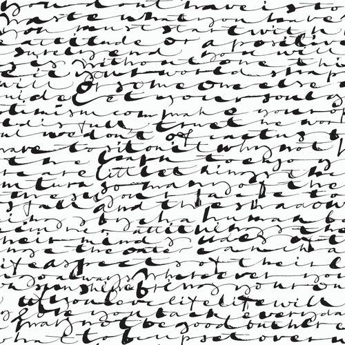 Tapete Schriftzug schwarz Rasch Textil 107106
