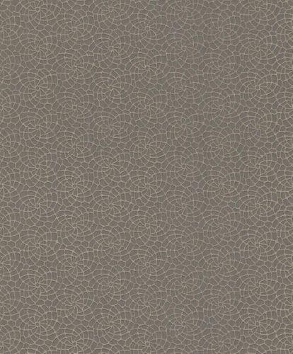 Textil Tapete Grafisch taupe beigegrau Rasch Textil 078991