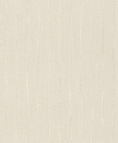 Tapete Textil Gestreift Striche Glitzer creme weiß 079257 online kaufen