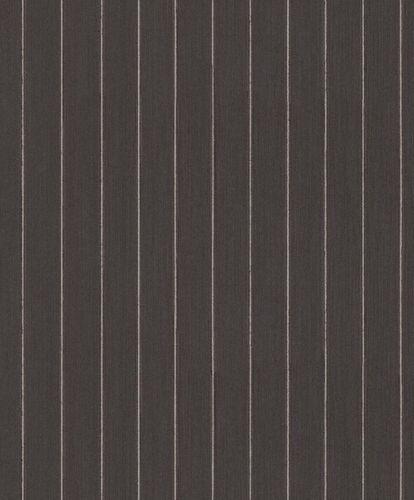 Tapete Textil Gestreift Striche Glitzer schwarz grau 079271 online kaufen
