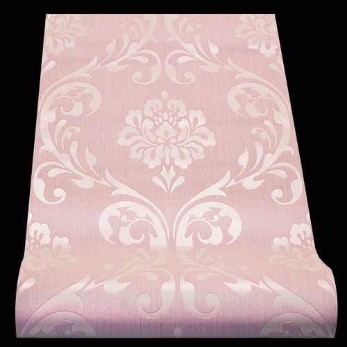 Barock Tapete Vlies Ornamente rosa Metallic 13110-90