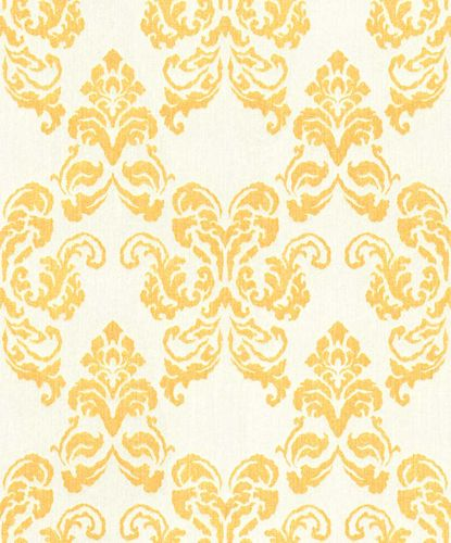 Wallpaper ornament yellow glitter Rasch Textil 072142 online kaufen