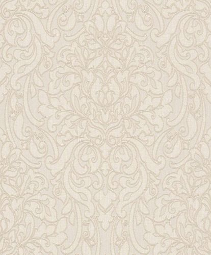 Textil Tapete Barock cremebeige beigegrau Rasch Textil 078083