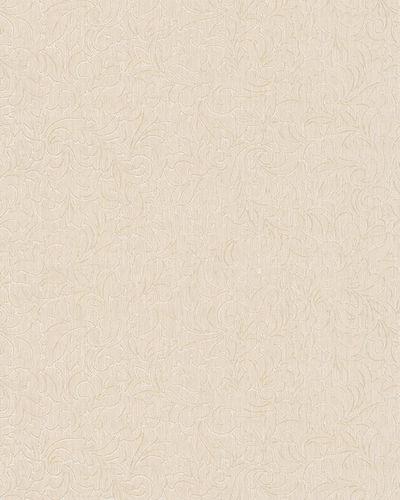 Tapete Vlies Ranken Floral weißcreme Glanz Marburg 59072