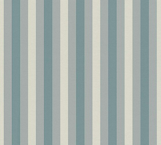 Lars Contzen Wallpaper striped blue grey 34212-1 online kaufen