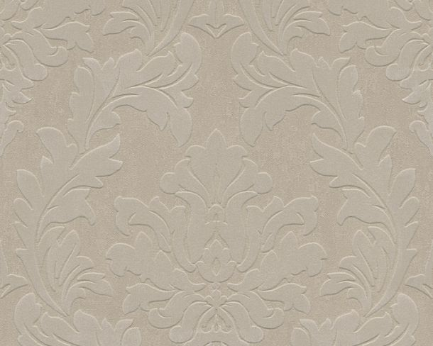 Flock wallpaper baroque beige Architects Paper 33580-3 online kaufen