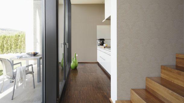 Flock Tapete Barock Floral beigegrau Architects Paper 33580-3