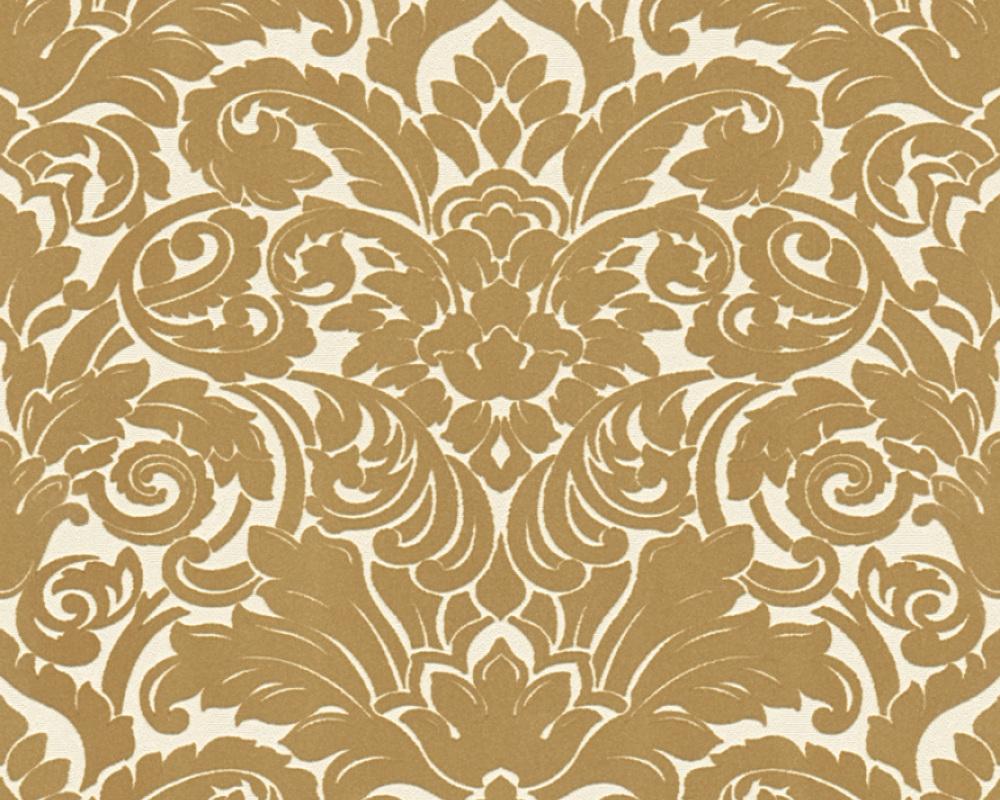 flock tapete barock wei gold architects paper 33583 2. Black Bedroom Furniture Sets. Home Design Ideas