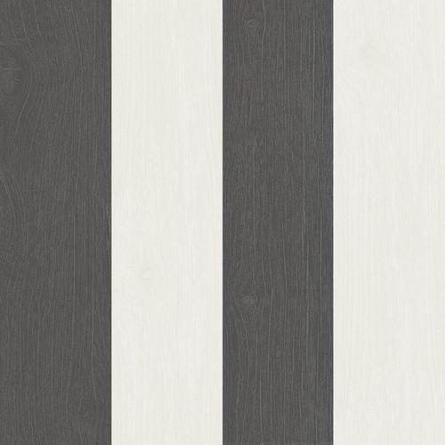 Tapete Vlies Rasch Textil Holz Streifen anthrazit 021014 online kaufen