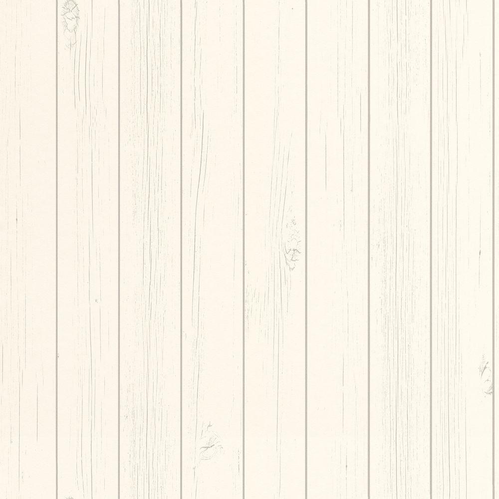 Vliestapete Rasch Textil Holz-Optik Bretter Weiß 128850