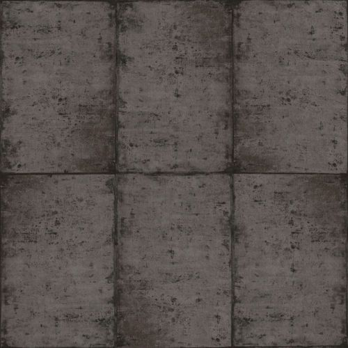 Wallpaper Rasch Textil tiles vintage anthracite 138880 online kaufen