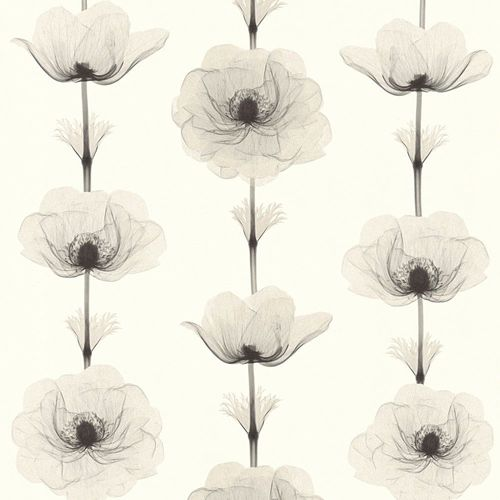 Wallpaper bloom nature white grey AS Creation 34273-4