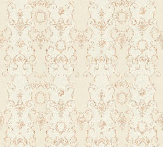 Tapete Vlies Ranken creme beige Glanz AS Creation 34392-4 online kaufen