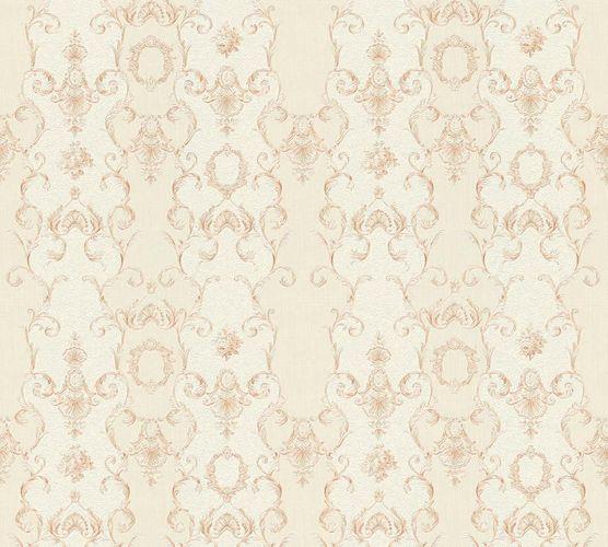 Wallpaper tendril cream beige gloss AS Creation 34392-4