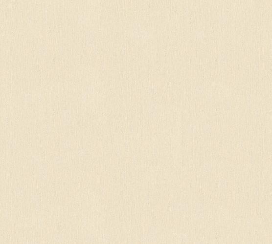 Wallpaper textured beige cream gloss AS Creation 34503-4