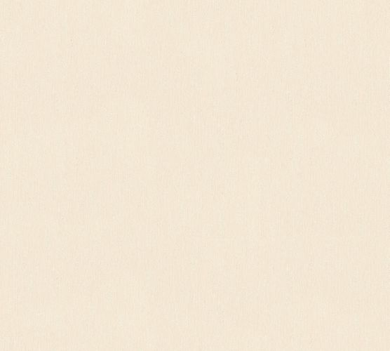 Wallpaper textured cream gloss AS Creation 34507-2