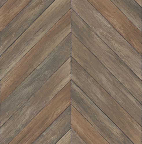 Tapete Vlies Holz Fischgrat rotbraun 024006 online kaufen