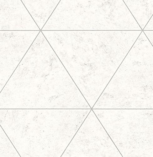 Tapete Vlies Fliesen Marmor weiß grau 024015 online kaufen